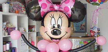 Musterballon Minnie Maus